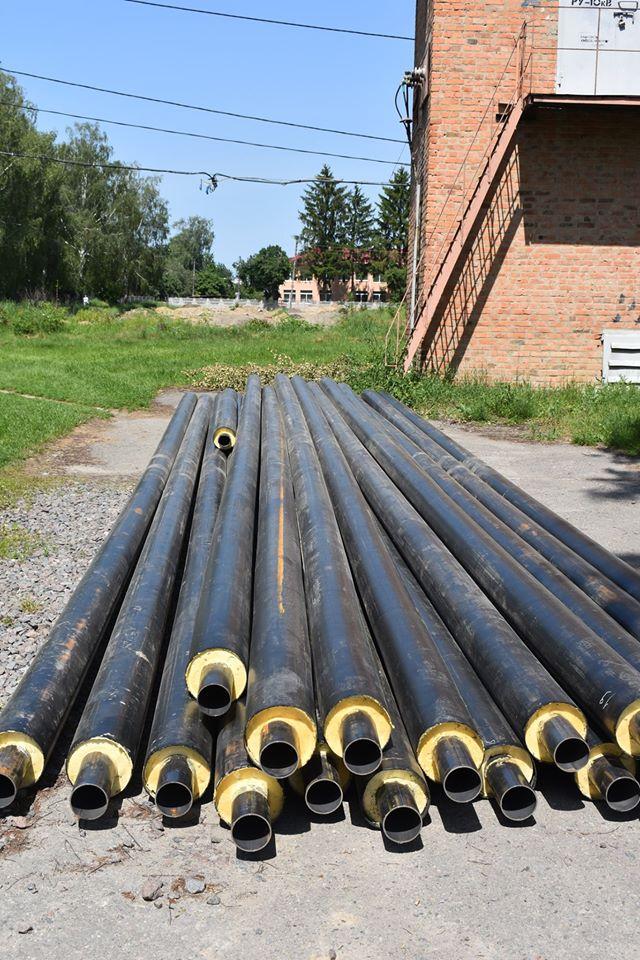 Будівництво футбольного поля в Ставищі. Фото