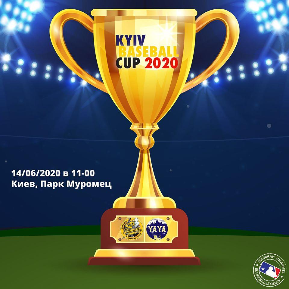 Фінал Кубку Київської бейсбольної ліги. Фото