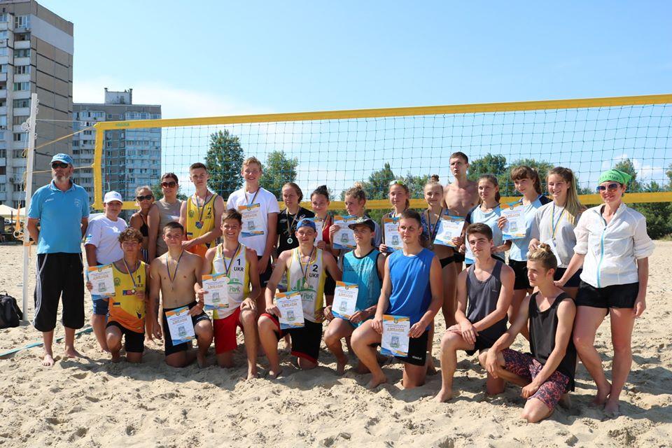 Чемпіонат Київської області з пляжного волейболу, Українка. Фото