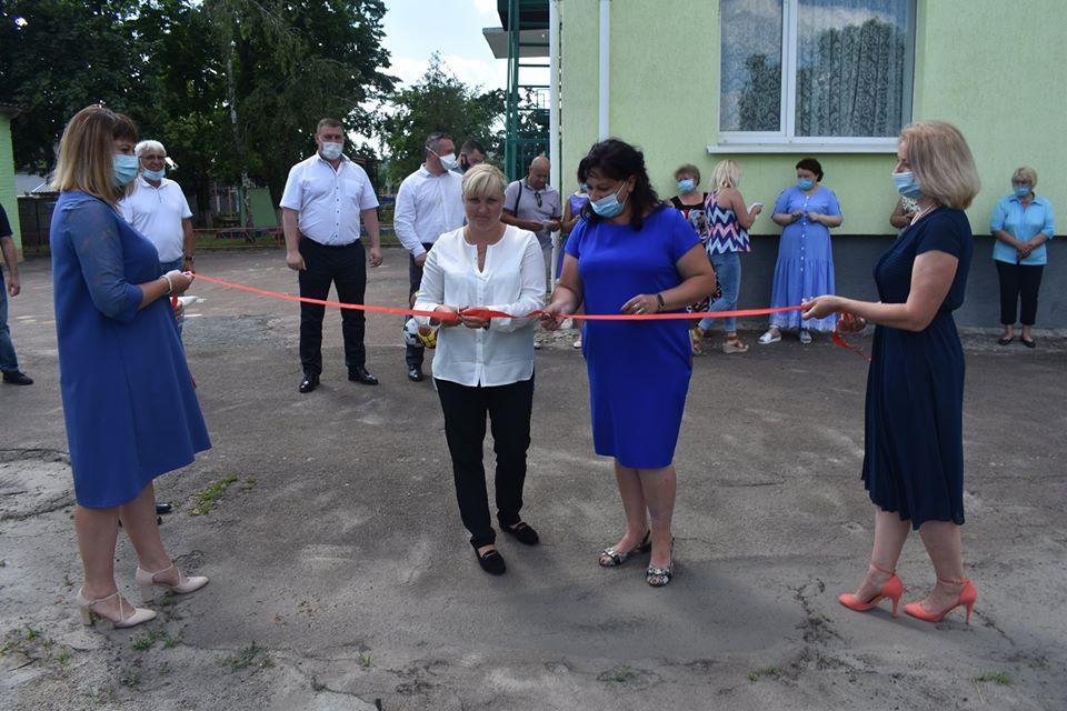 Відкриття майданчика для воркаут у Пролісках. Фото