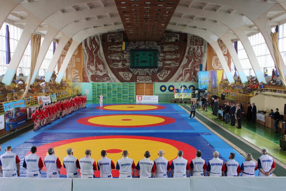 чемпіонат України зі спортивного самбо, Луцьк. Фото