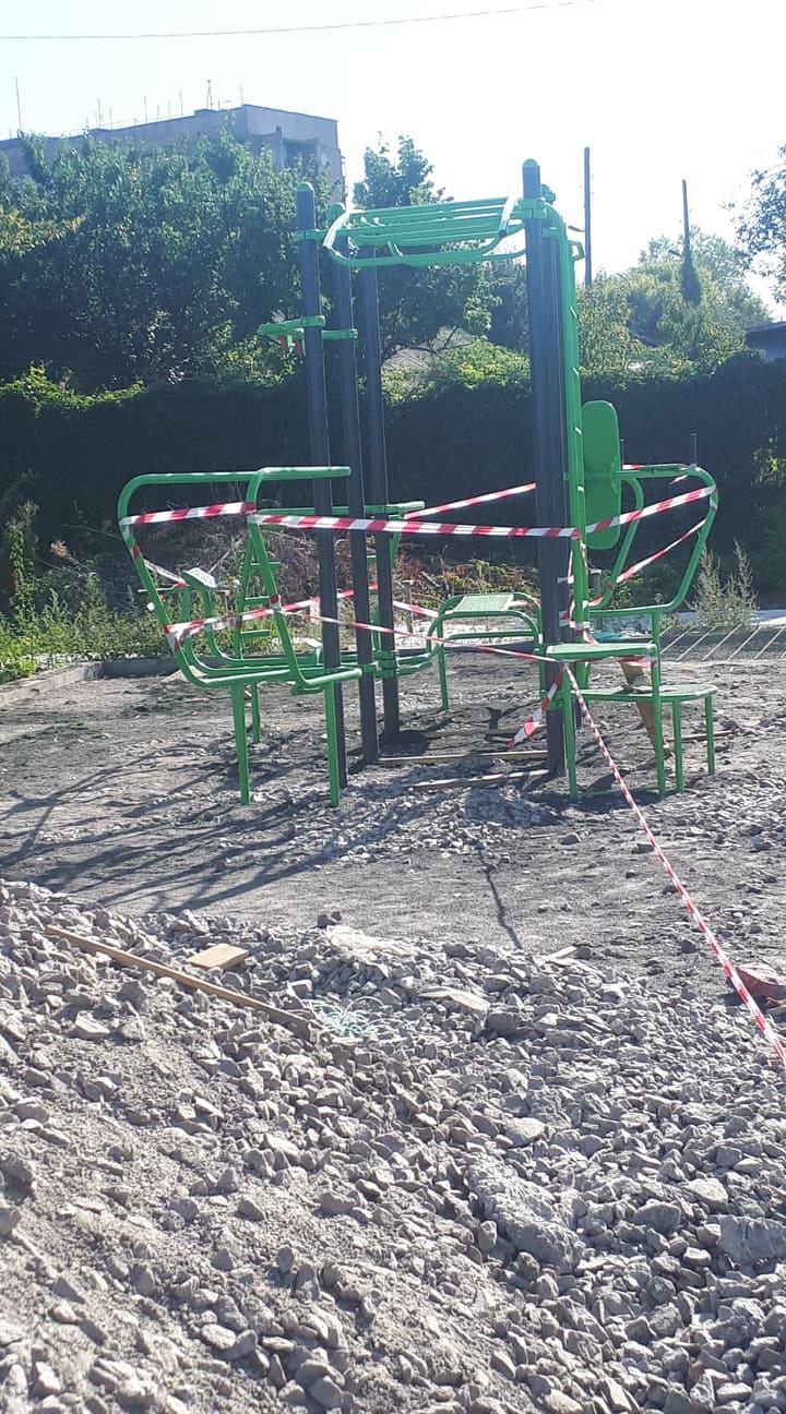 Будівництво мультифункціонального майданчика в Фастові. Фото