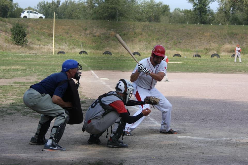 Дев'ятий тур чемпіонату України з бейсболу, дивізіон «А» (вища ліга), Київ. Фото