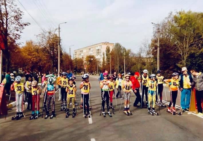 Відкритий чемпіонат Київщини з лижоролерів та кросу, Бровари. Фото