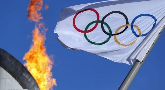 Підняття олімпійського прапора. Фото