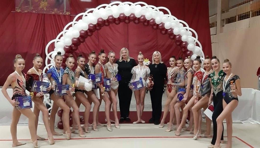 турнір з художньої гімнастики «Принцеса Лебідь». фото