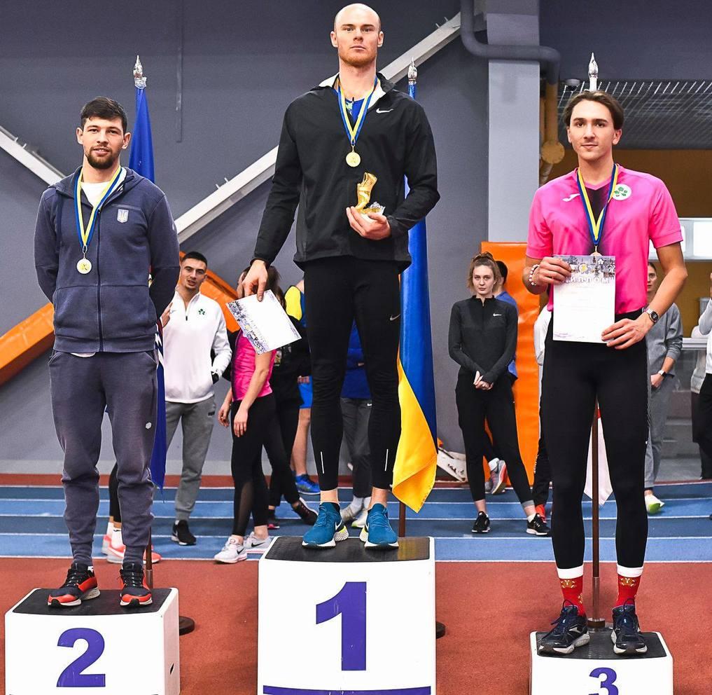 Всеукраїнські змагання з легкої атлетики «Різдвяні старти». Фото