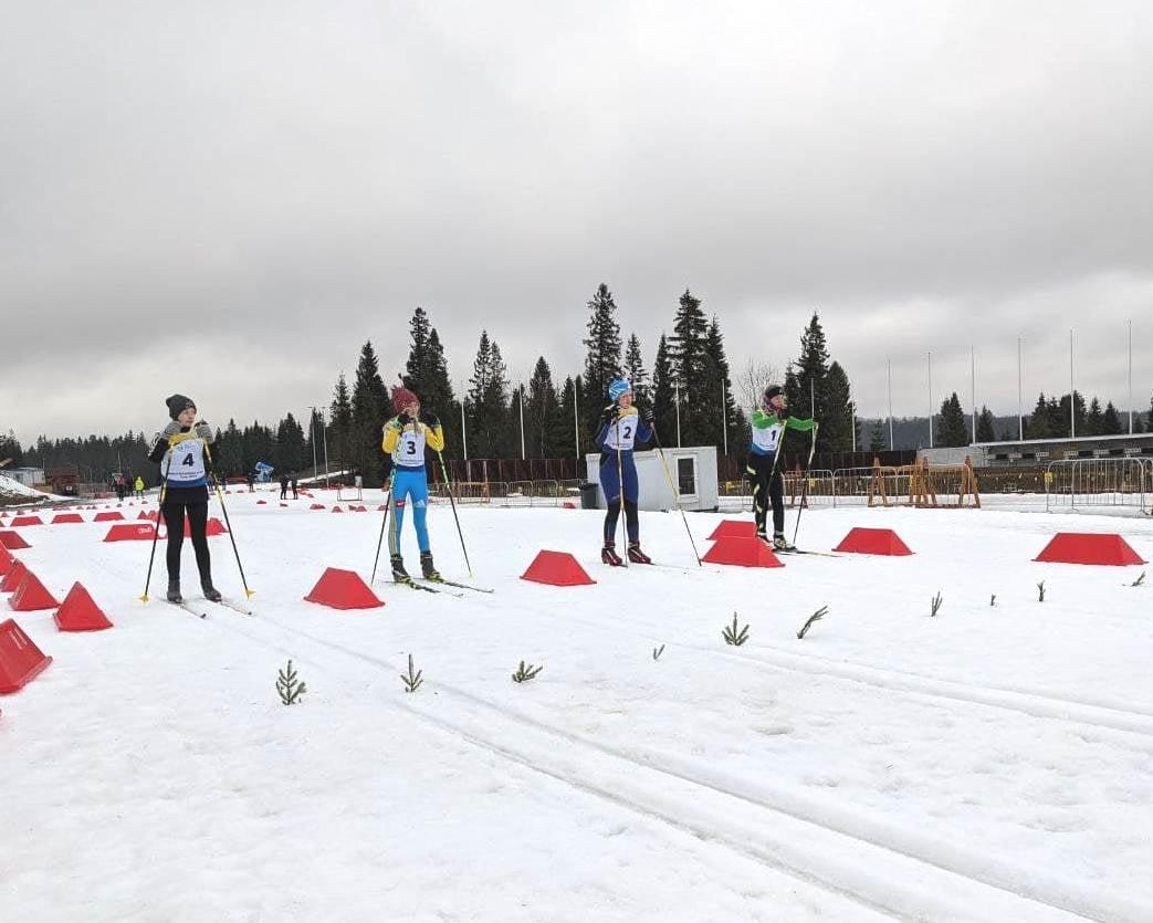 чемпіонат України з лижних перегонів та біатлону. фото