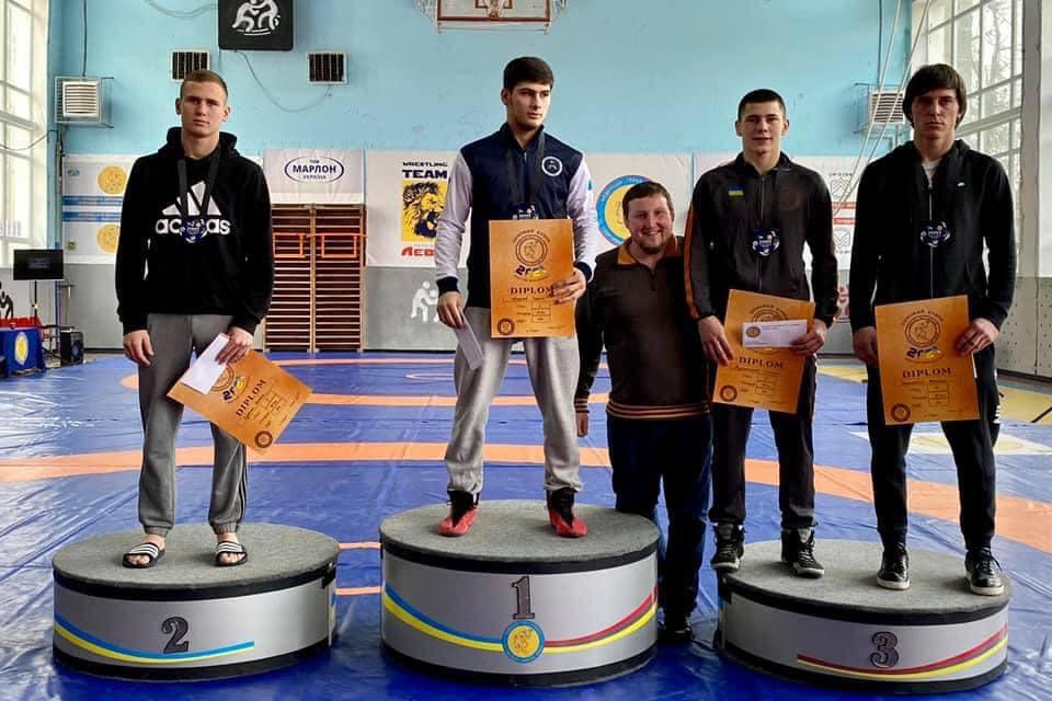 Відкритий турнір з греко-римської боротьби «Зимовий кубок 2021» серед кадетів U-17 та юнаків U-15. фото