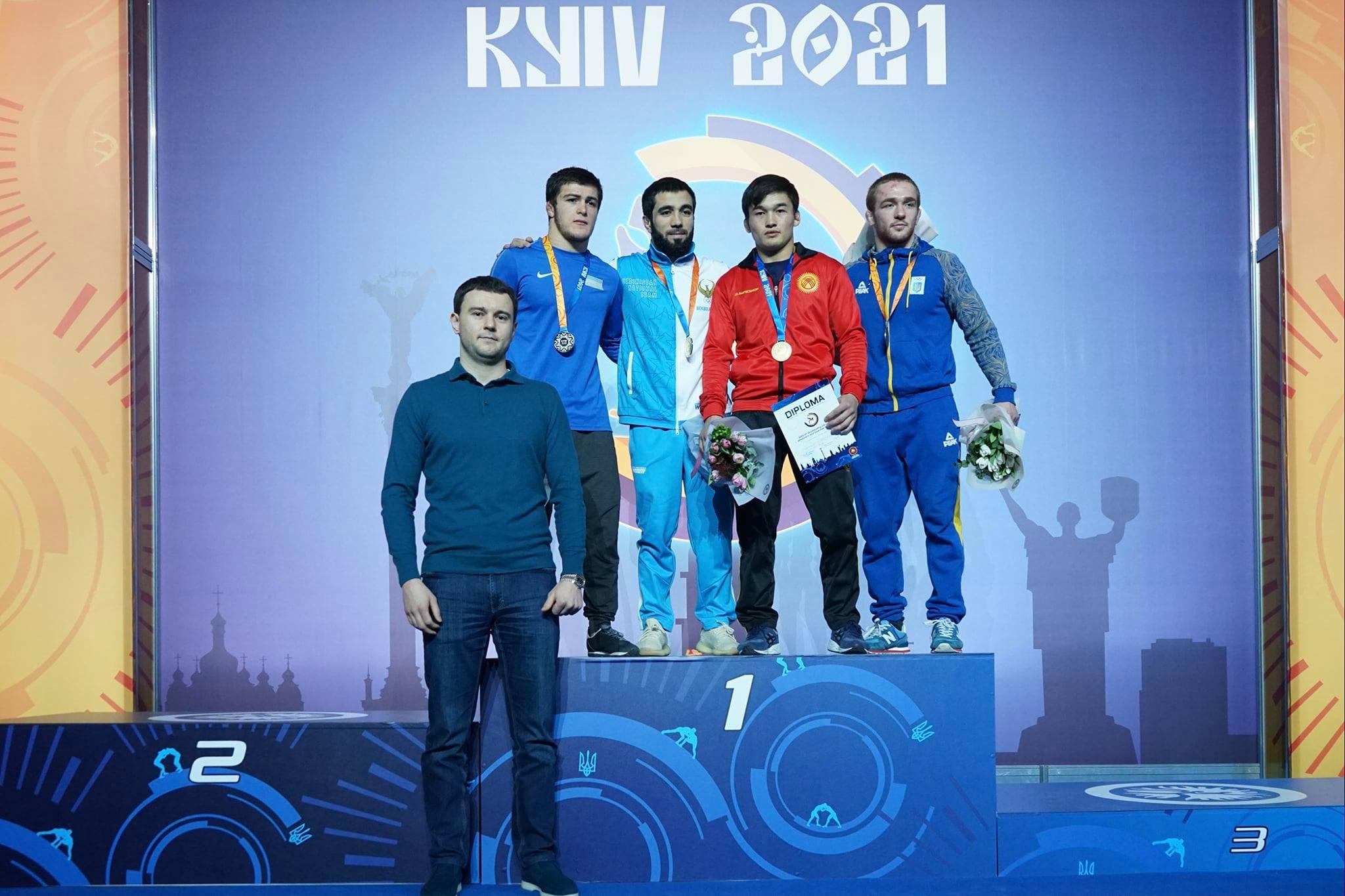 24-й Київський міжнародний турнір з трьох стилів боротьби, присвячений видатним українським борцям та тренерам