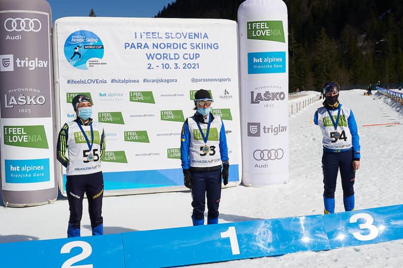 Кубок світу з лижних гонок та біатлону серед паралімпійців. 3-10 березня, Словенія. фото