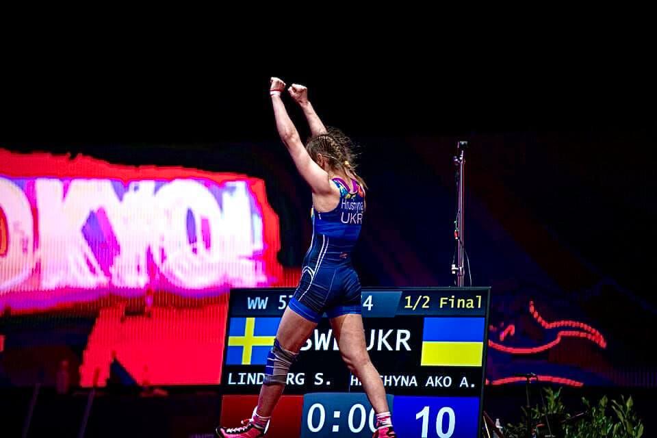 Дві ліцензії на участь в Олімпійських іграх здобуоли борчині Київщини. Фото