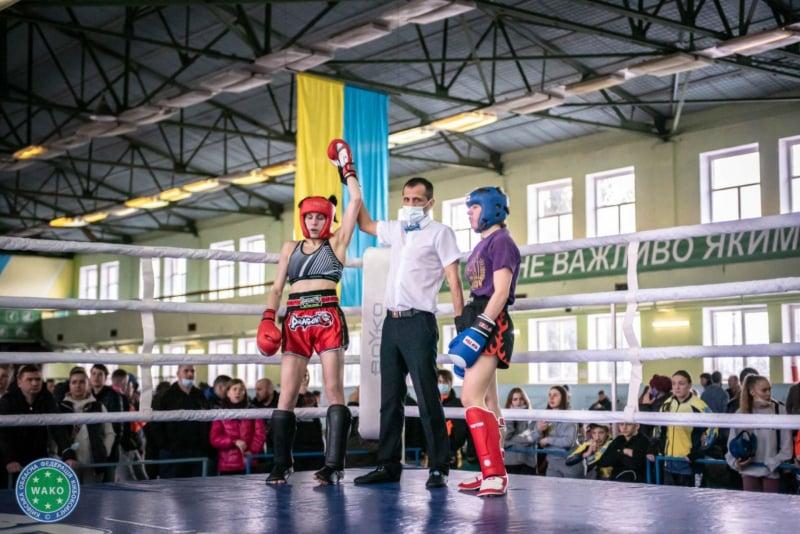 Дарина Іванова, кікбоксинг ВАКО. фото
