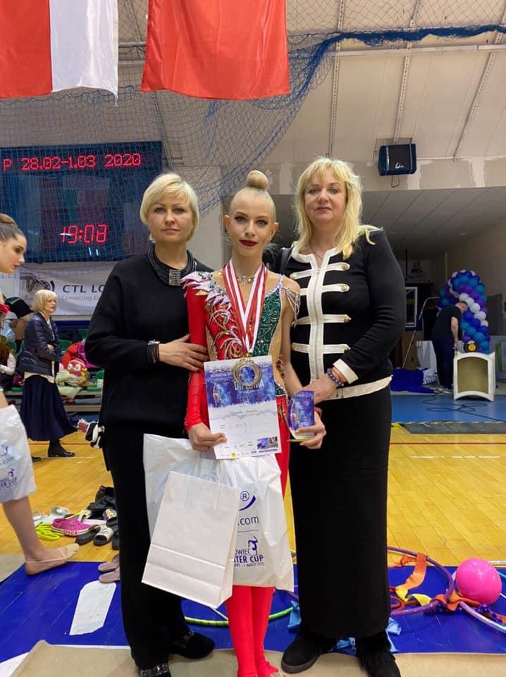 Міжнародні змагання з художньої гімнастики, Польща. Фото