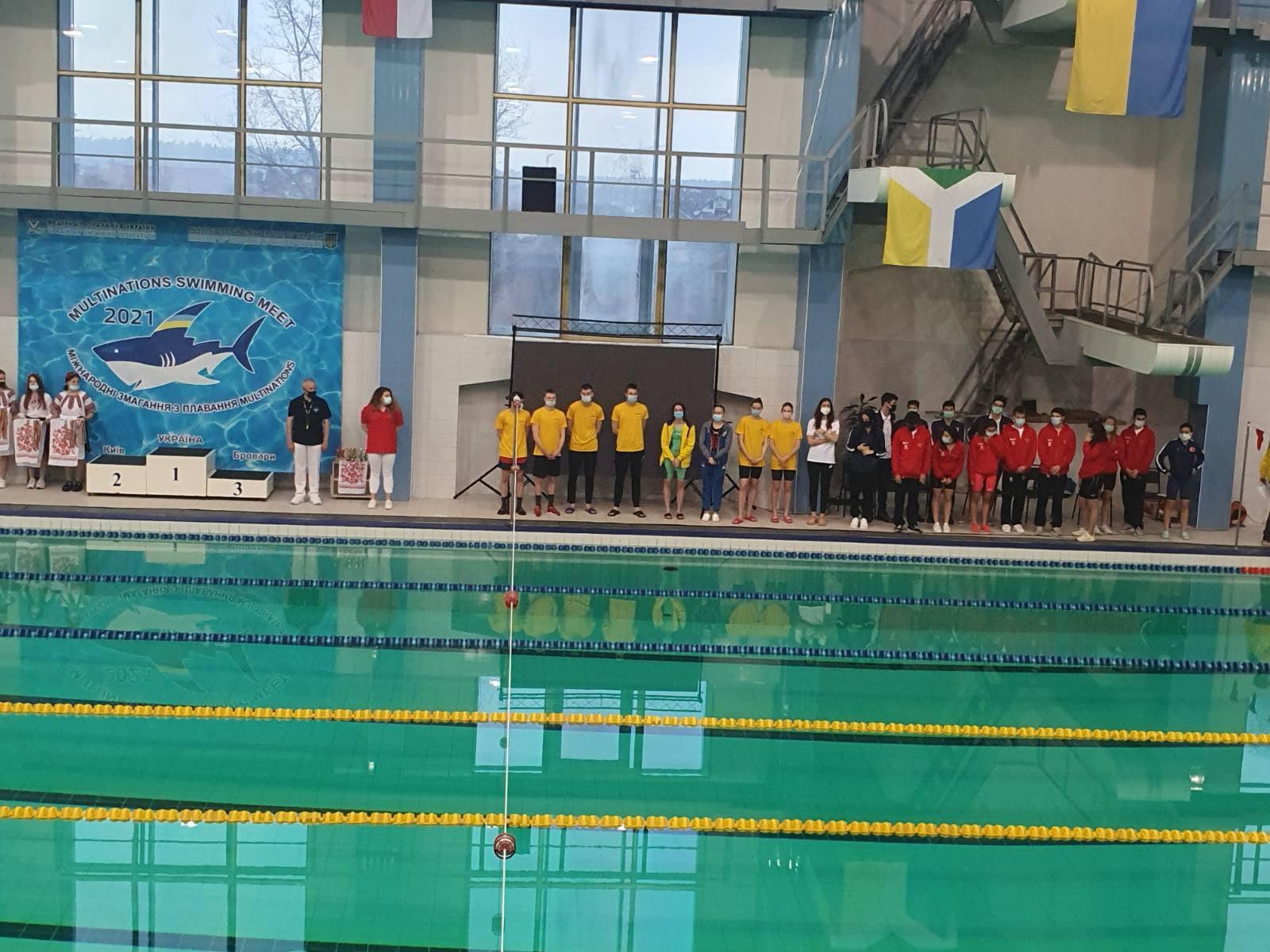міжнародний турнір з плавання, Бровраи. фото
