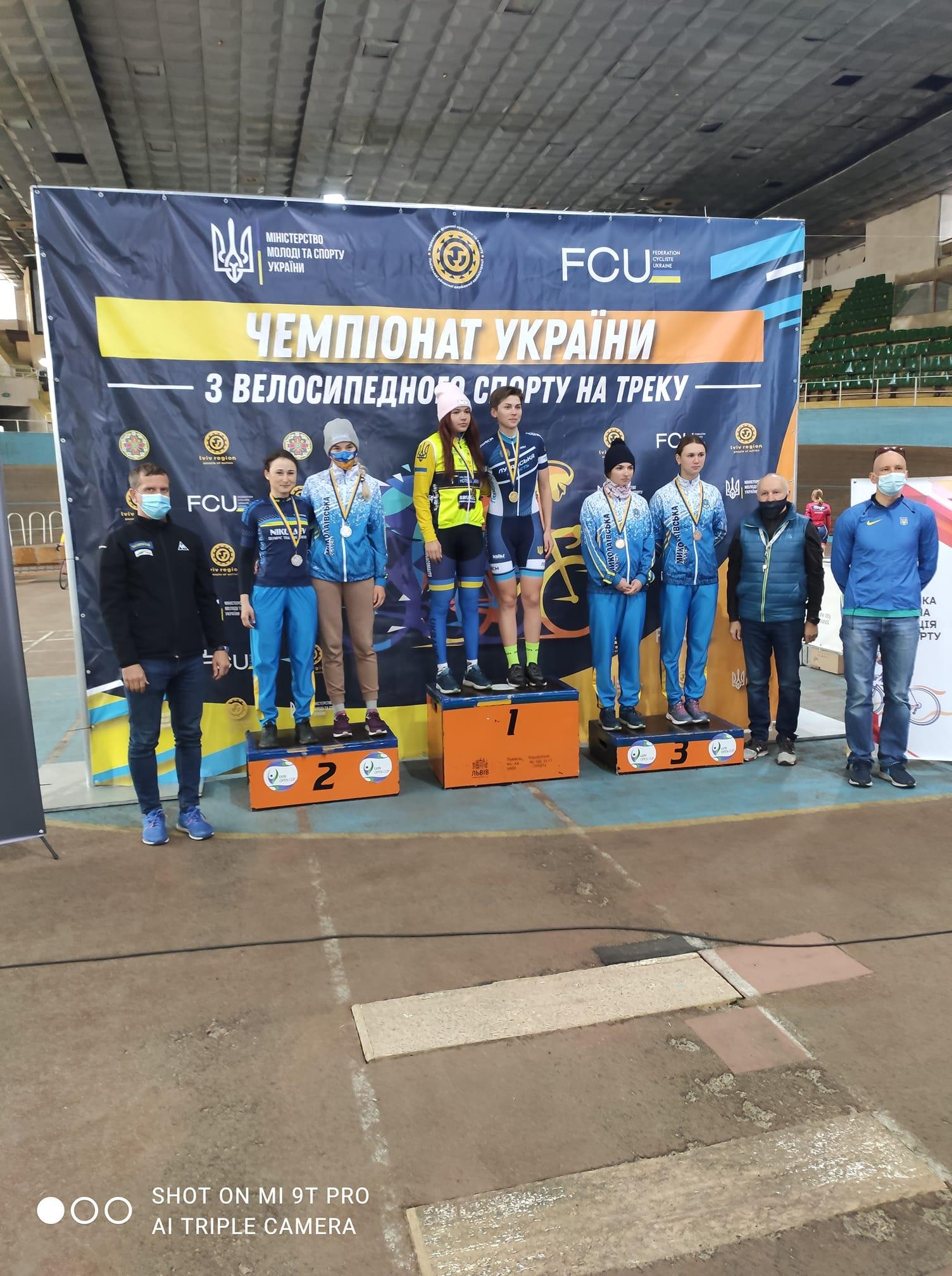 чемпіонат України з велоспорту на треку, Львів. фото