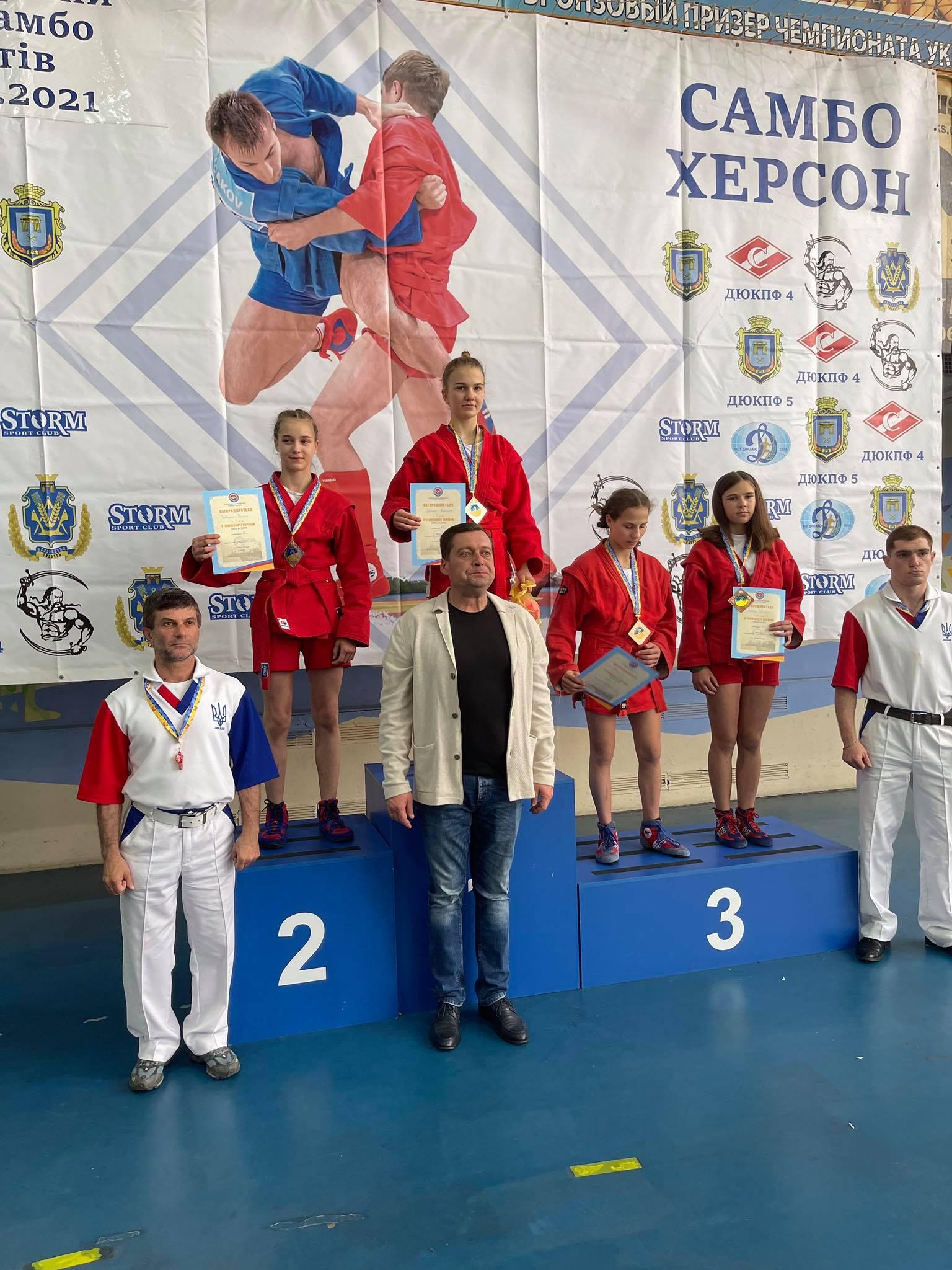 чемпіонат України з боротьби самбо серед кадетів, Херсон. фото