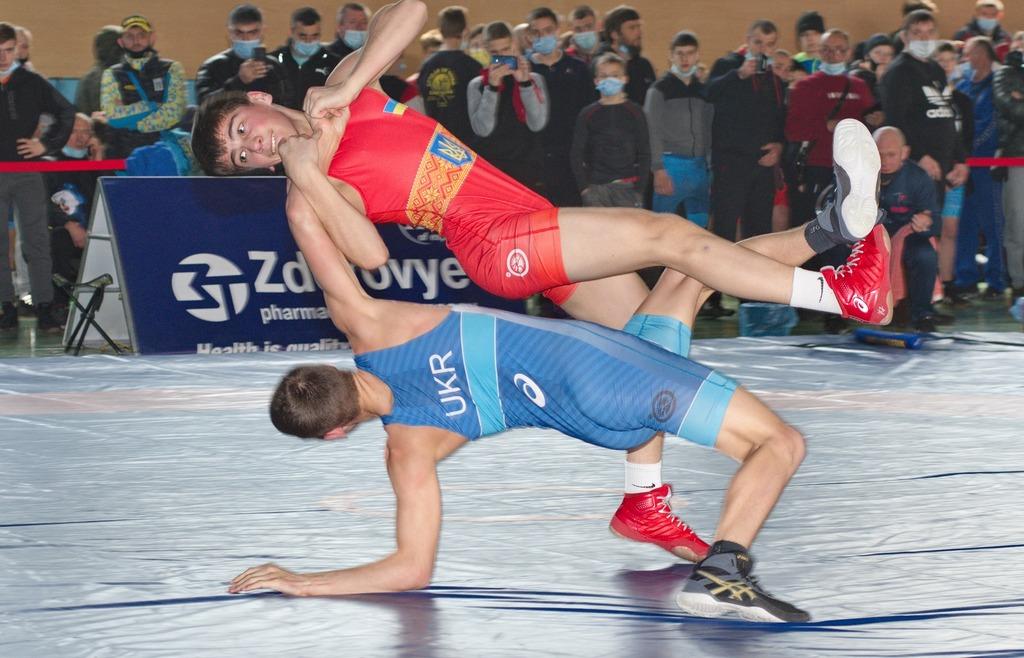 чемпіонат України з вільної боротьби U15, Харків. фото