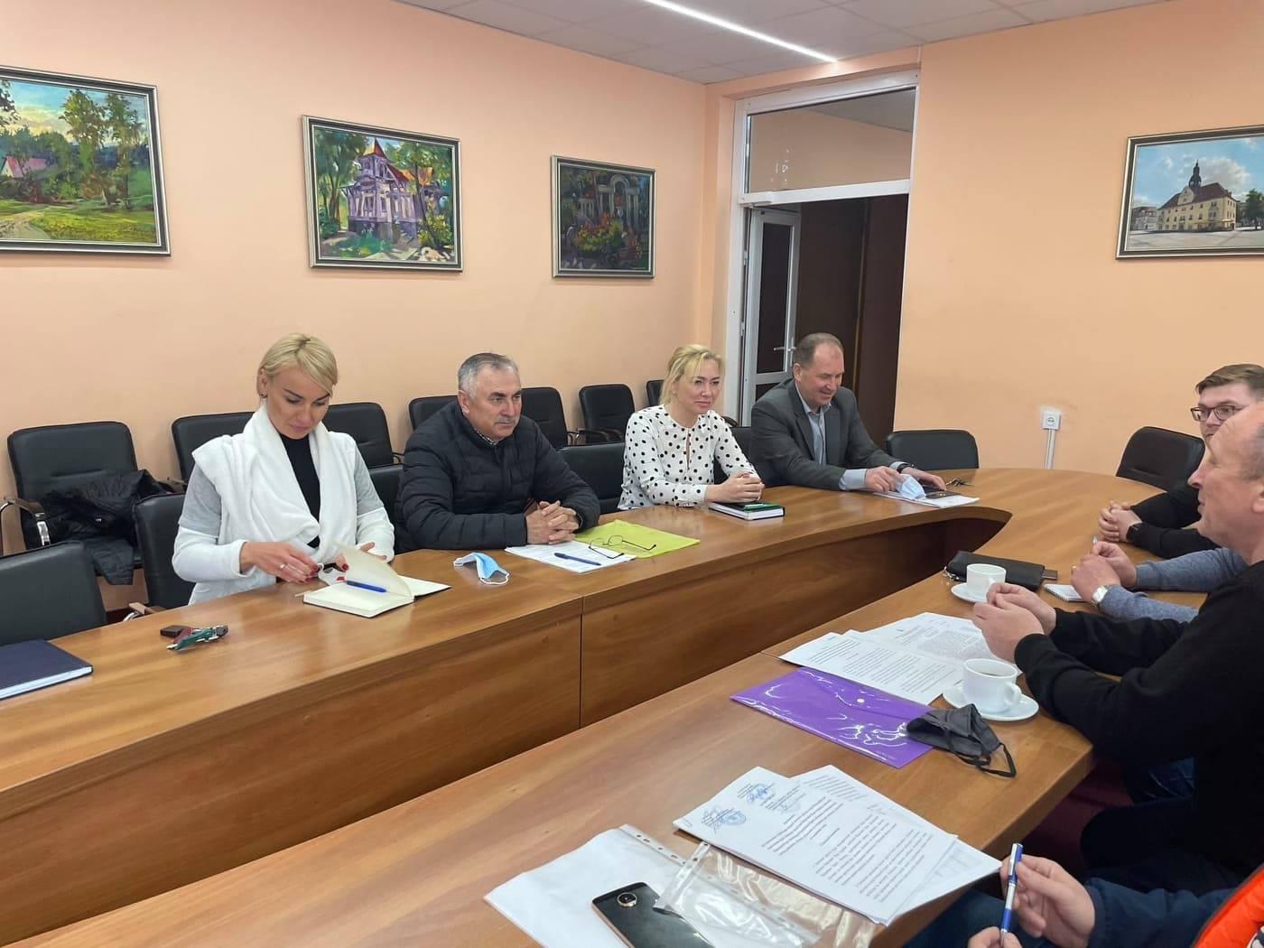 ІІ етап всеукраїнської спартакіади. Засідання оргкомітету, Ірпінь. Фото