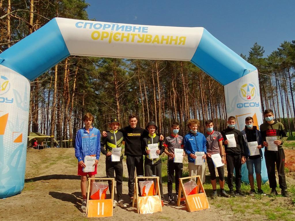 чемпіонат України зі спортивного орієнтування, Переяслав. фото
