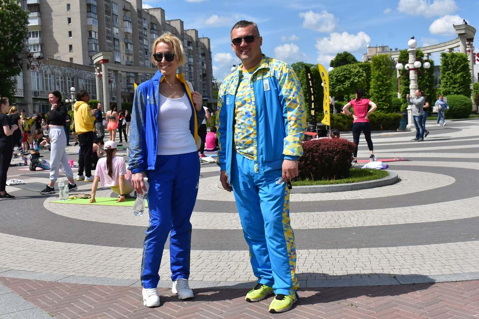 Сергій Тимофєєв, Тетяна Щербак. фото