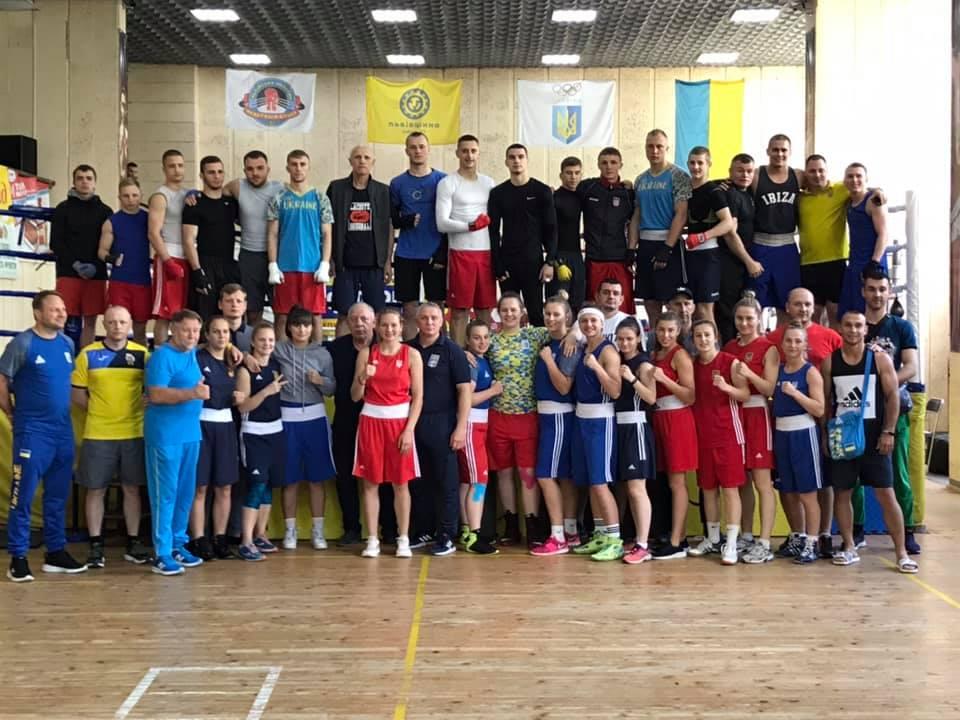відкрите тренування збірної України з боксу. фото
