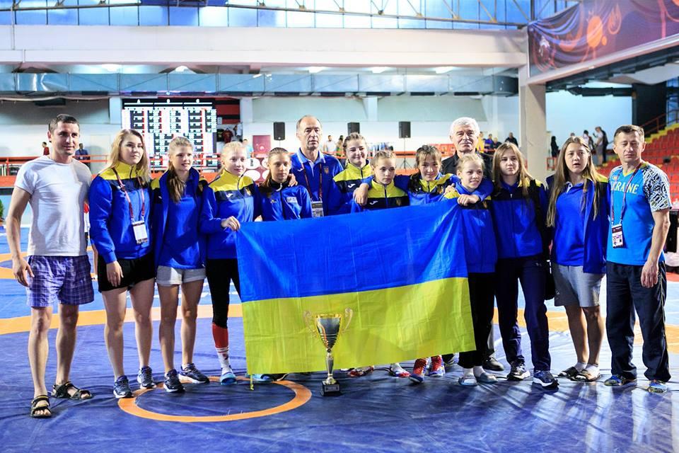 Збірна України, ЧЄ з вільної боротьби, Македонія. Фото