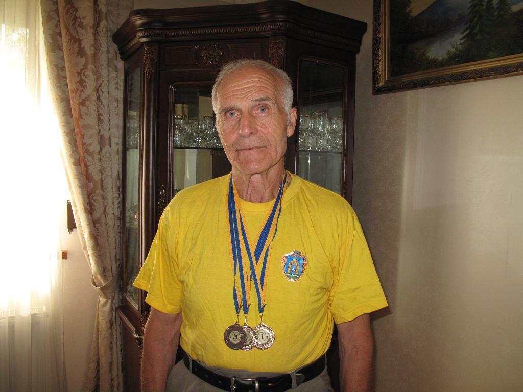 VIІІ літні Всеукраїнські ігри ветеранів спорту з легкої атлетики пам'яті Михайла Баки. фото
