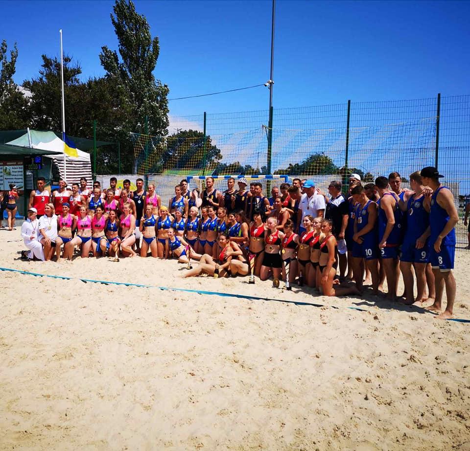 чемпіонат України  з пляжного гандболу, Скадовськ. фото