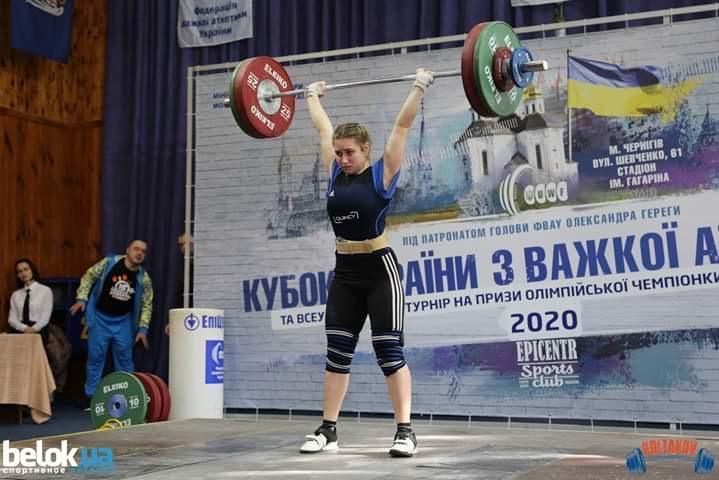 Кубок України з важкої атлетики серед чоловіків та жінок. фото