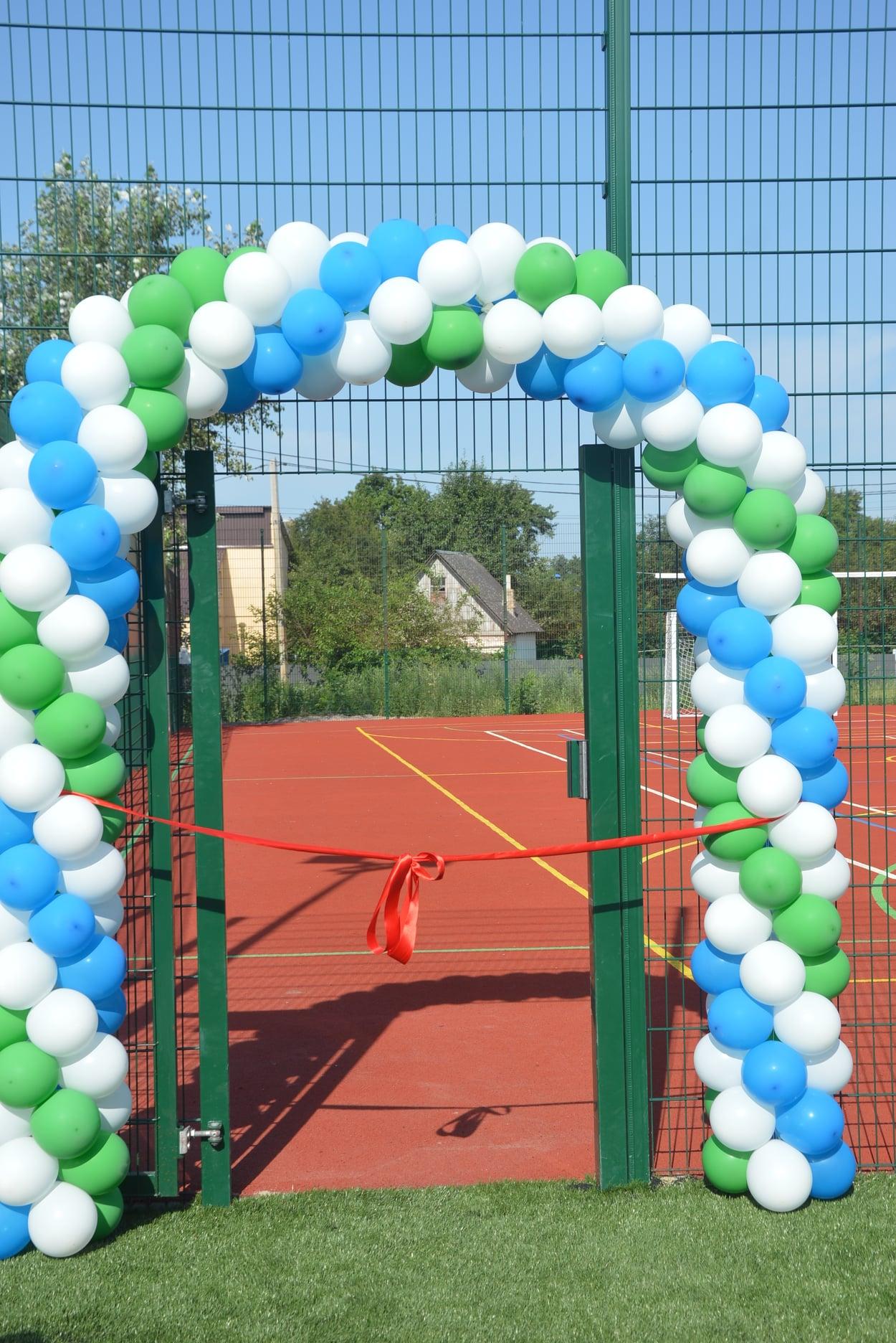 мультифукціональний спортивний майданчик, Гостомель. фото