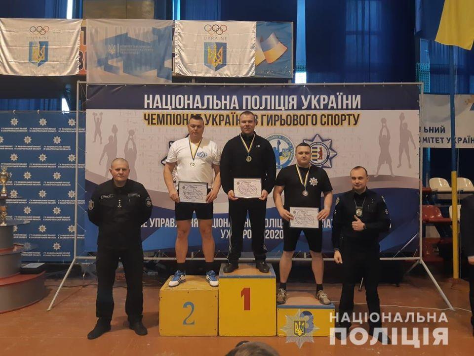 Чемпіонат України з гирьового спорту серед працівників Національної поліції. фото