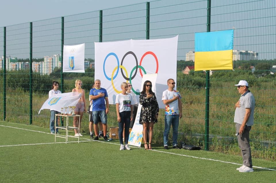 Підняття олімпійського прапора, Ірпінська громада. фото