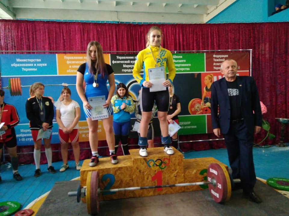 Всеукраїнський турнір з важкої атлетики. фото