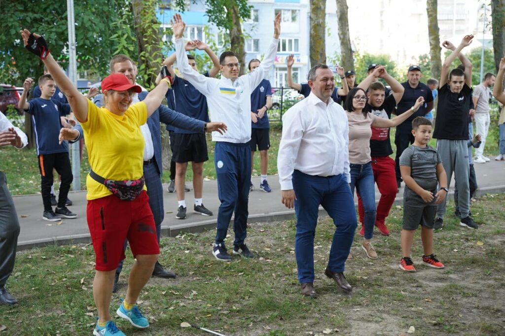 У Броварах відкрили перший «Активний парк». фото