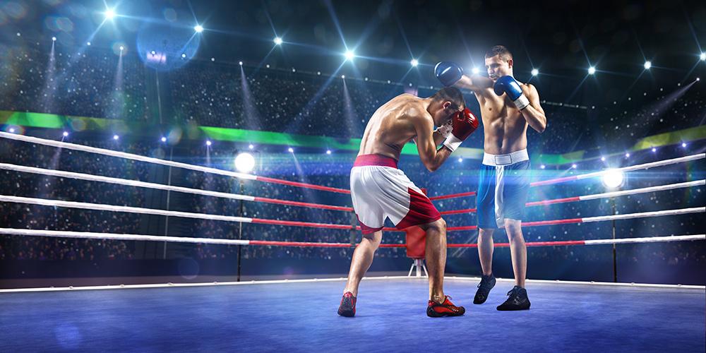 Чемпіонат з боксу. Фото
