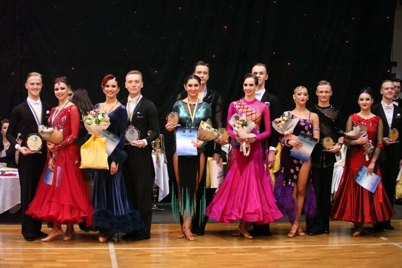 чемпіонату Європи зі спортивних танців. Фото