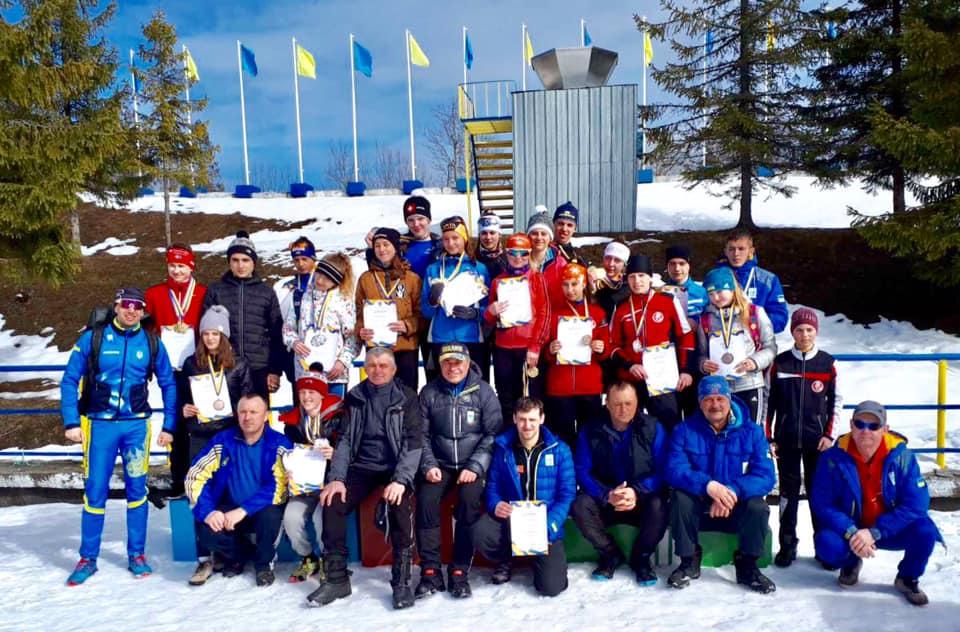 Всеукраїнські змагання з лижних перегонів. Фото
