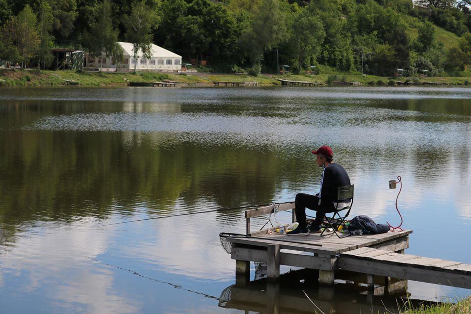 Чемпіонат з риболовного спорту. Фото