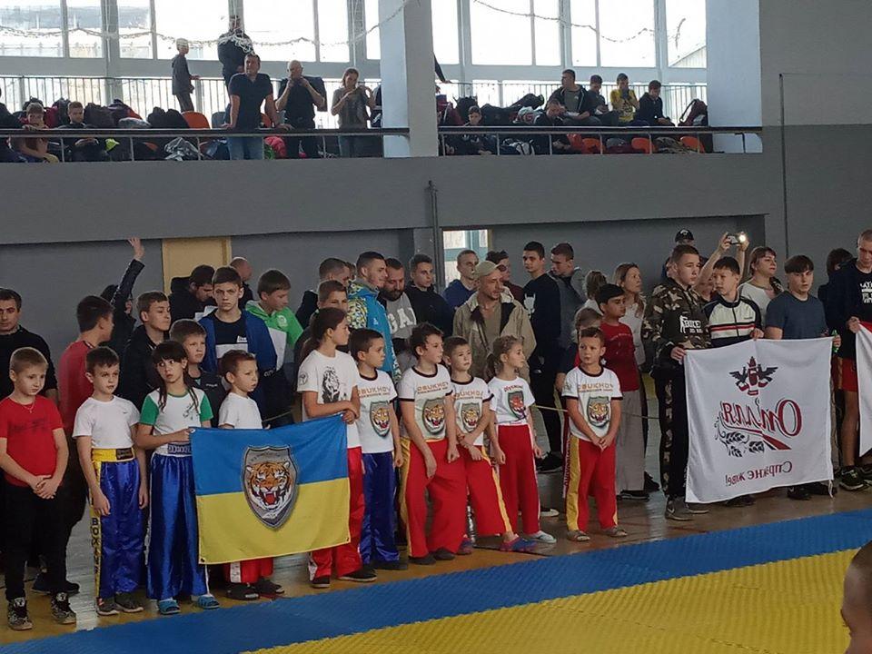 Чемпіонат України з кікбоксингу WPKA. фото