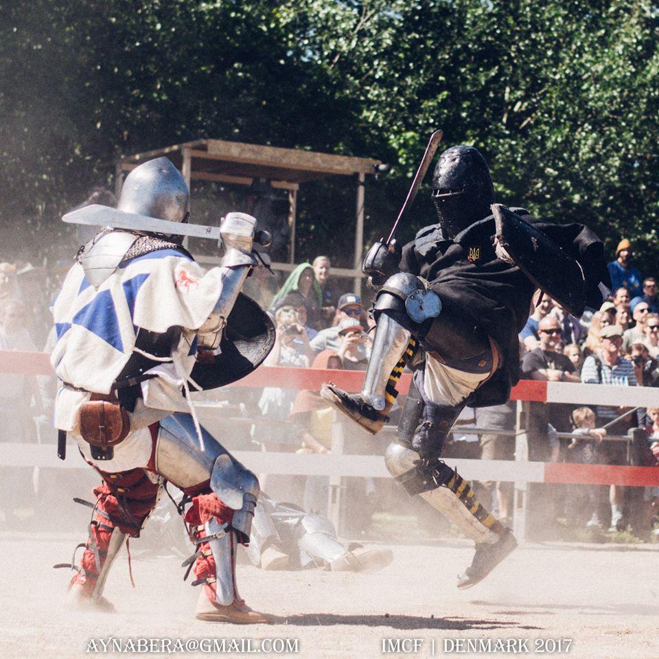 Чемпіонат світу з середньовічного бою. фото
