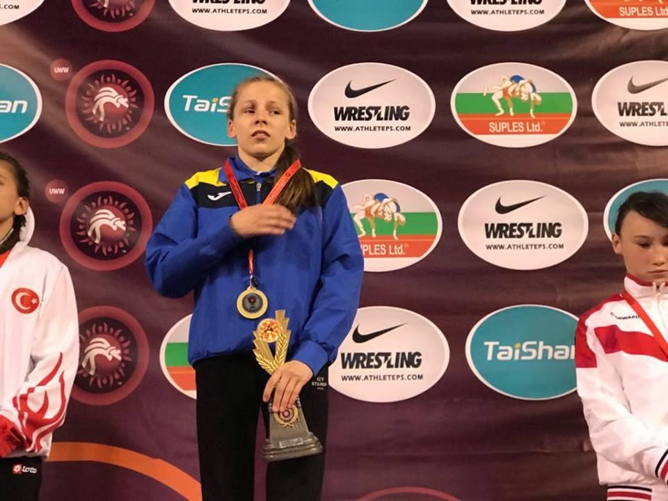 Софія Кушнір, ЧЄ, Македонія. Фото