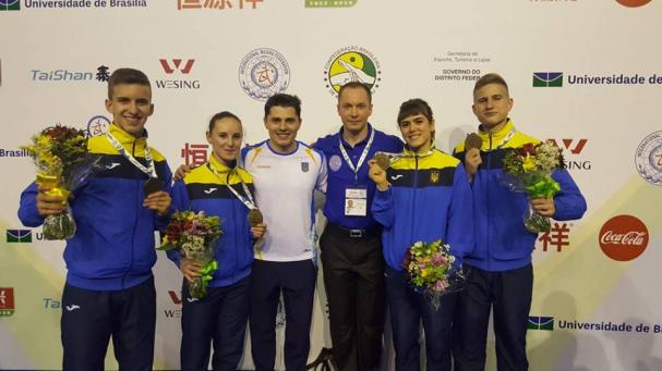 Чемпіонат світу з ушу серед юніорів. Червень, Бразилія