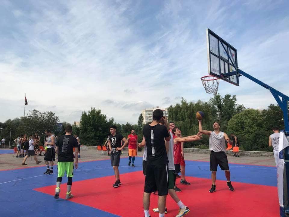 Турнір з баскетболу, Бородянка. Фото