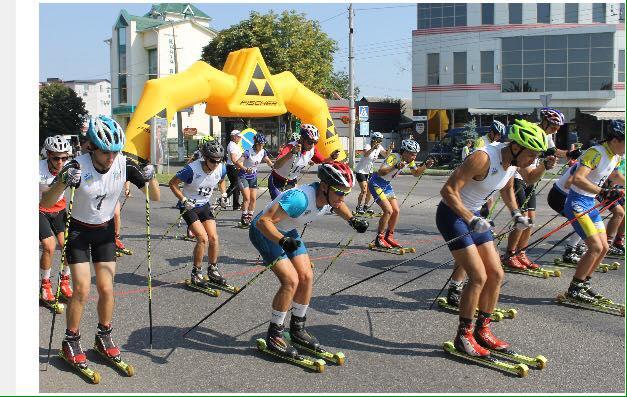 Чемпіонат Київщини з лижоролерів, Біла Церква. Фото