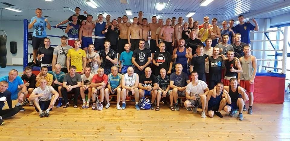 Збори збірної з боксу, Маріуполь. Фото