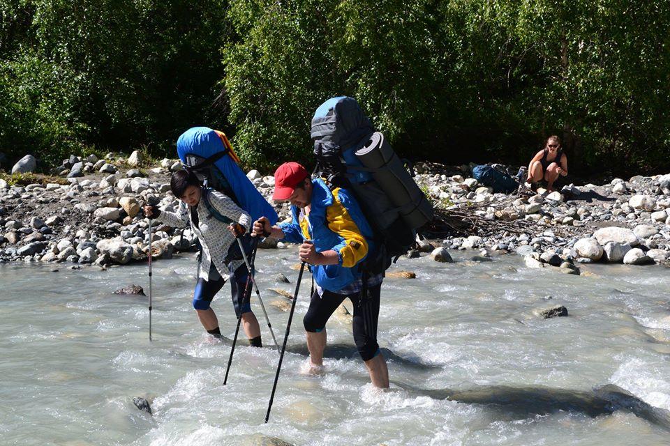 Спортивний туризм, Сванетія. Фото