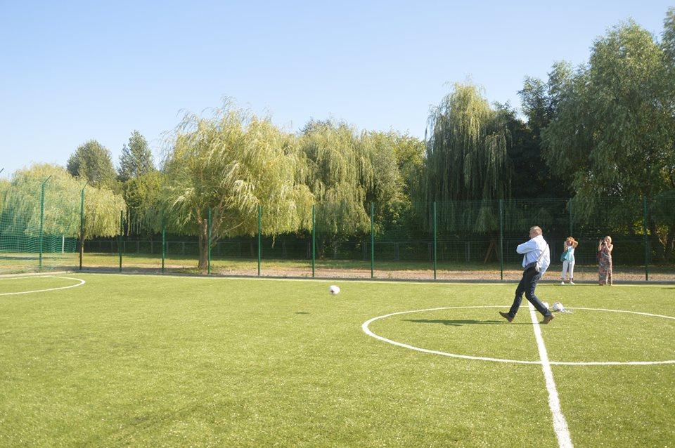 Футбольне поле, Підгірці. Фото