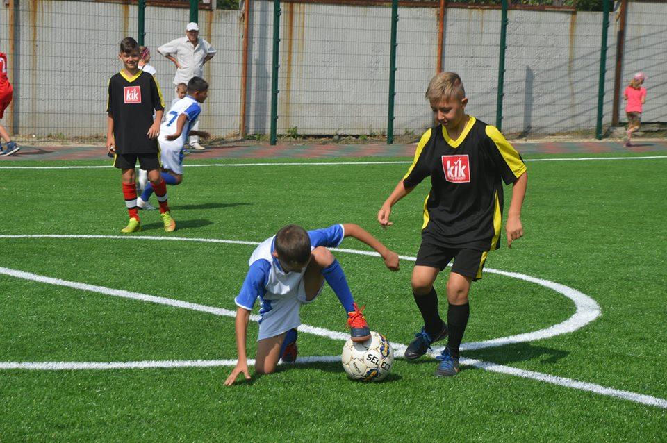 Футбольне поле в школі №16, Біла Церква. Фото