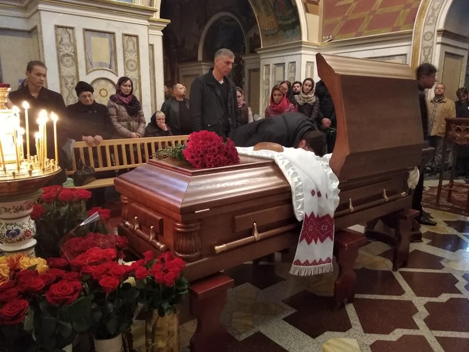 Прощання з Григорієм Хижняком. Фото